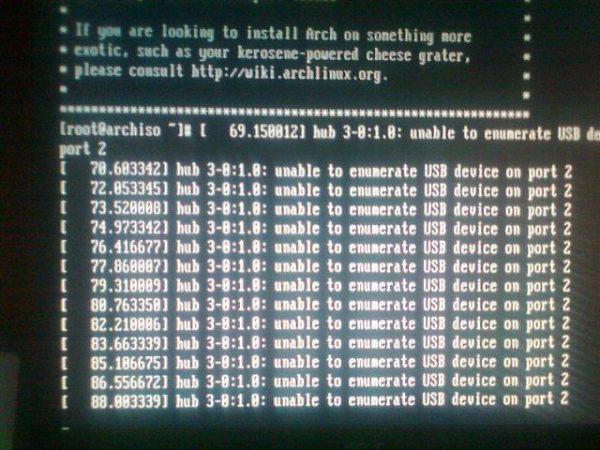 Обложка к записи Unable to enumerate USB device on port X