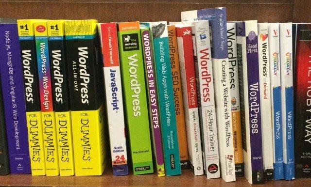 Обложка к записи Книги по WordPress