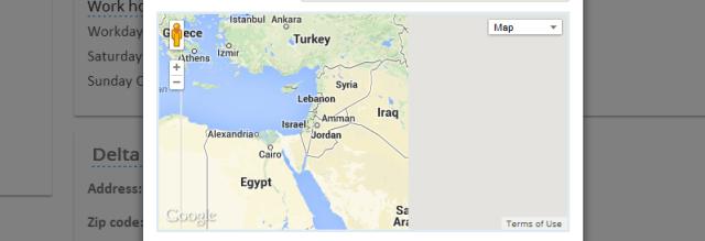 Карта Google Maps внутри модального окна Twitter Bootstrap