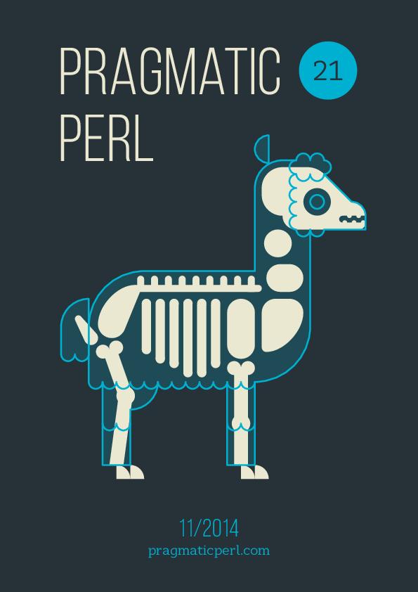 Обложка к записи Двадцать первый выпуск электронного журнала Pragmatic Perl