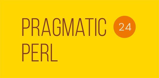 Вышел двадцать четвёртый выпуск Pragmatic Perl