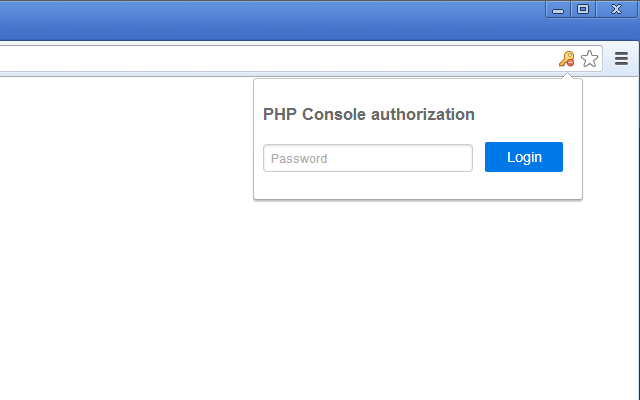 PHP-Console-Authorization