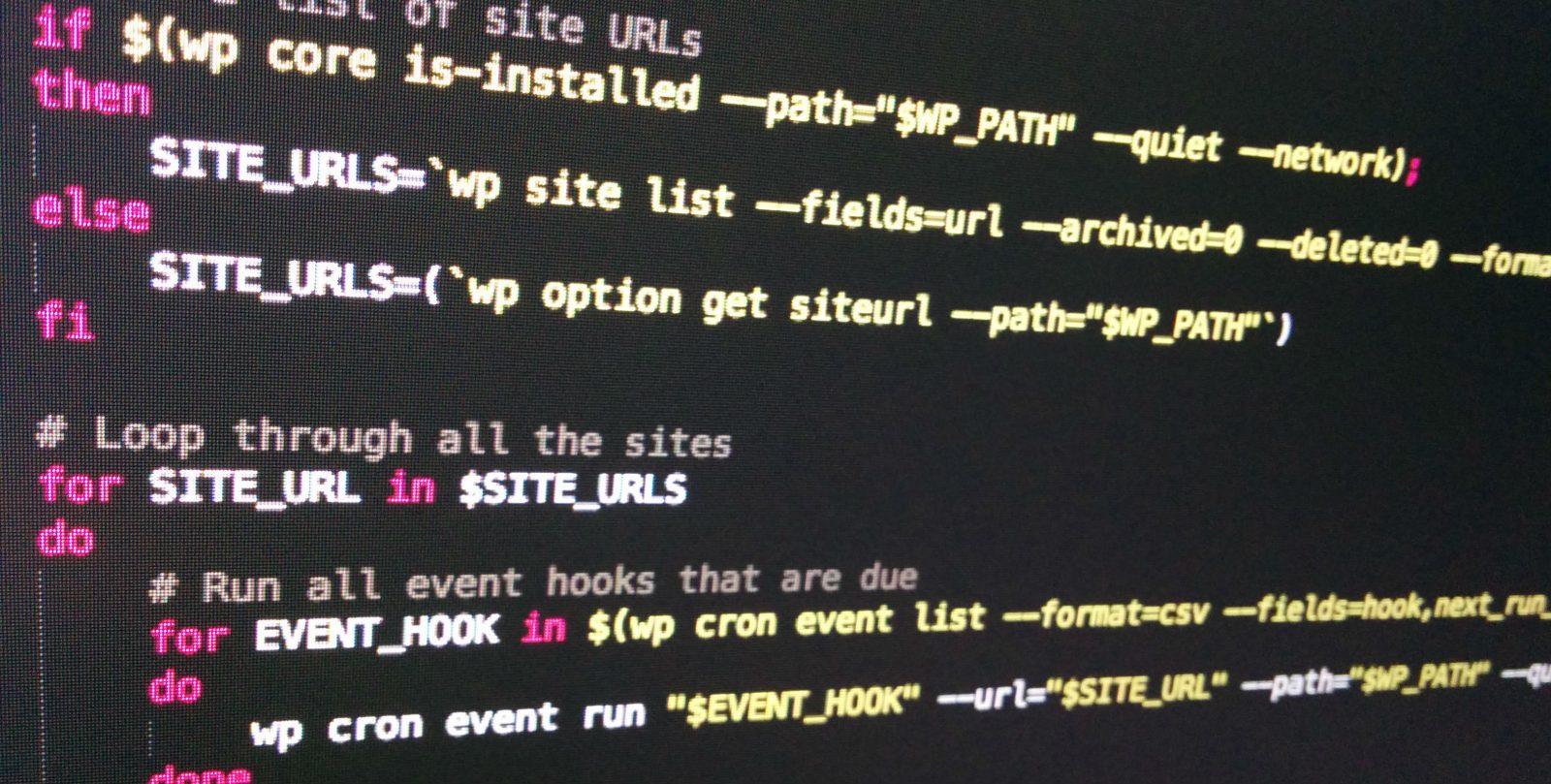 Обложка к записи Как запускать крон-задачи WordPress через WP-CLI