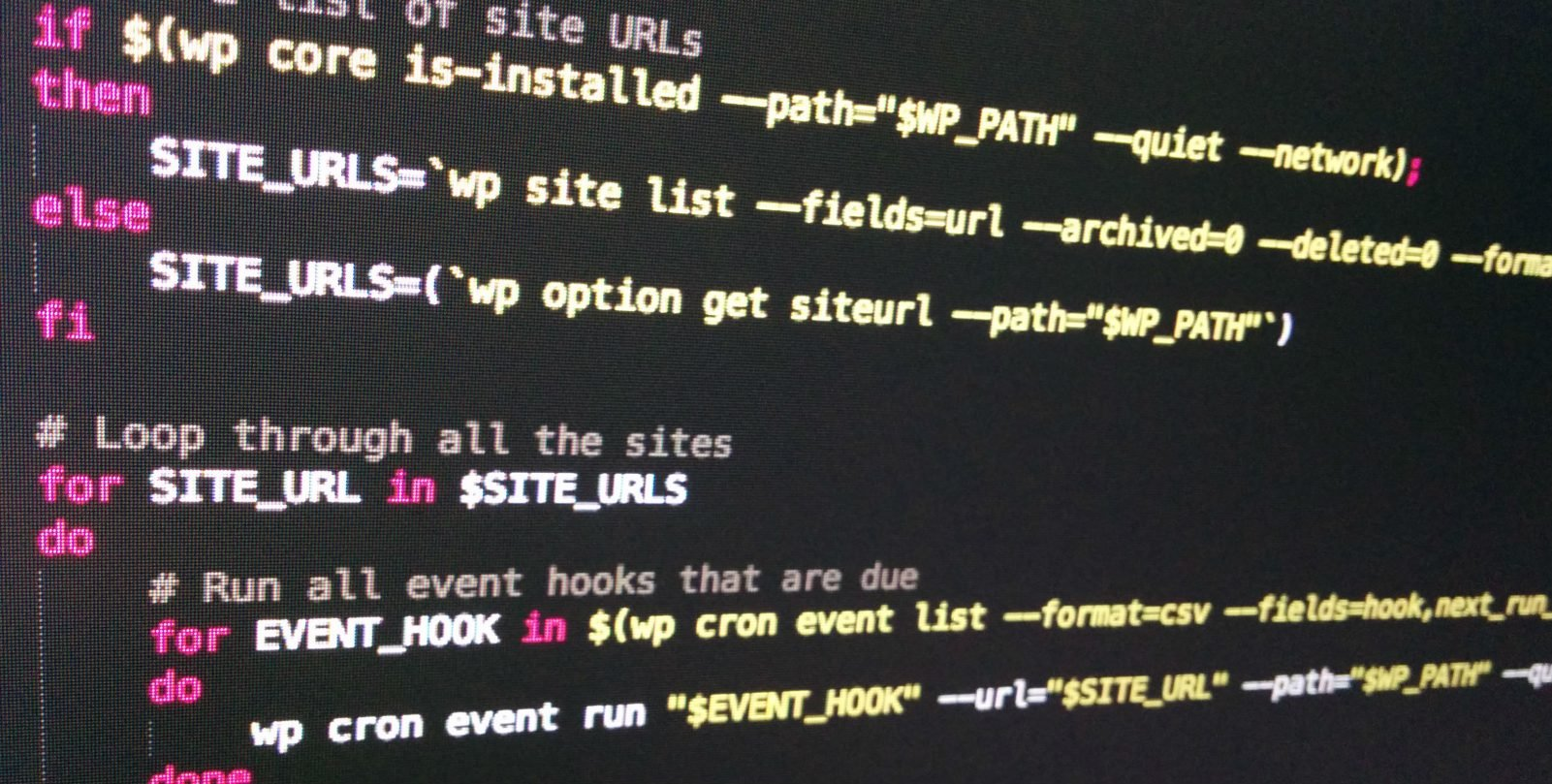 Как запускать крон-задачи WordPress через WP-CLI