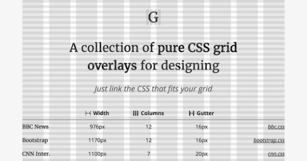 Обложка к записи Graaf — направляющие для CSS сеток