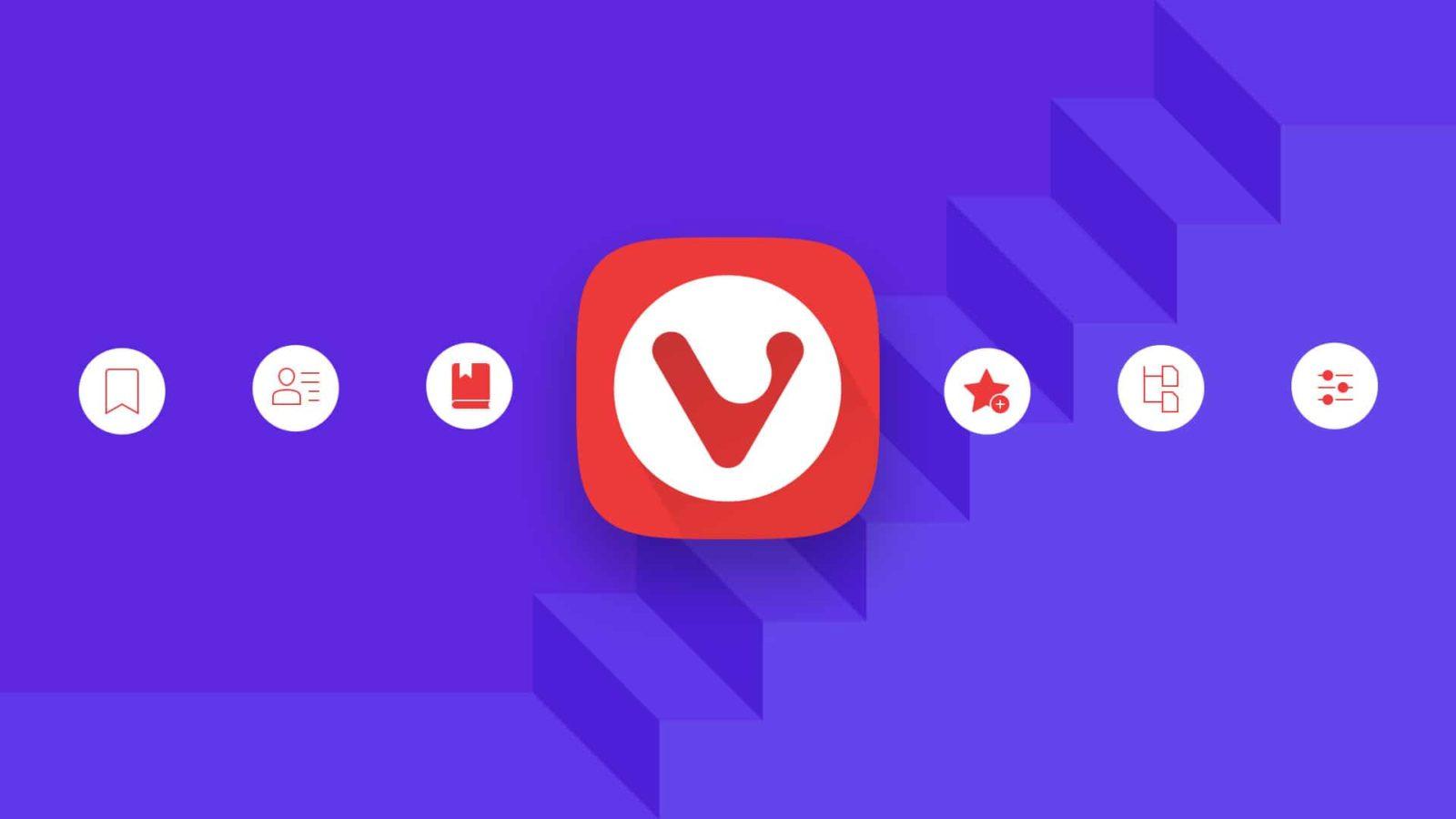 Обложка к записи Браузер Vivaldi в стиле WordPress