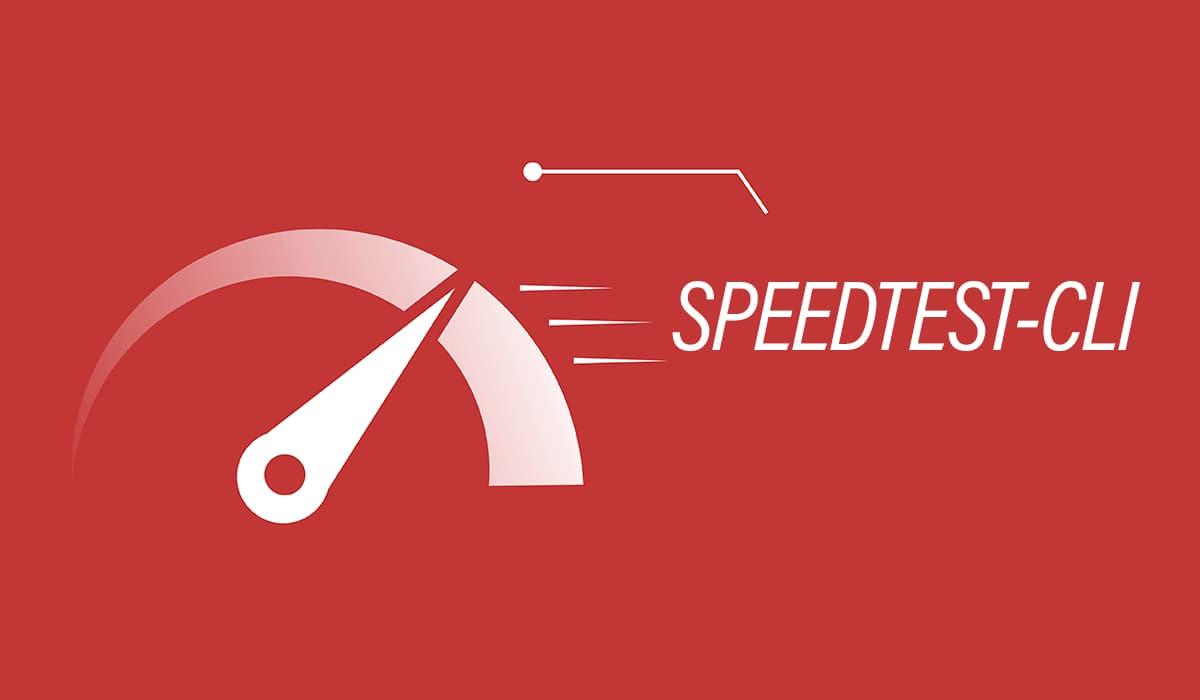 Обложка к записи Speedtest CLI