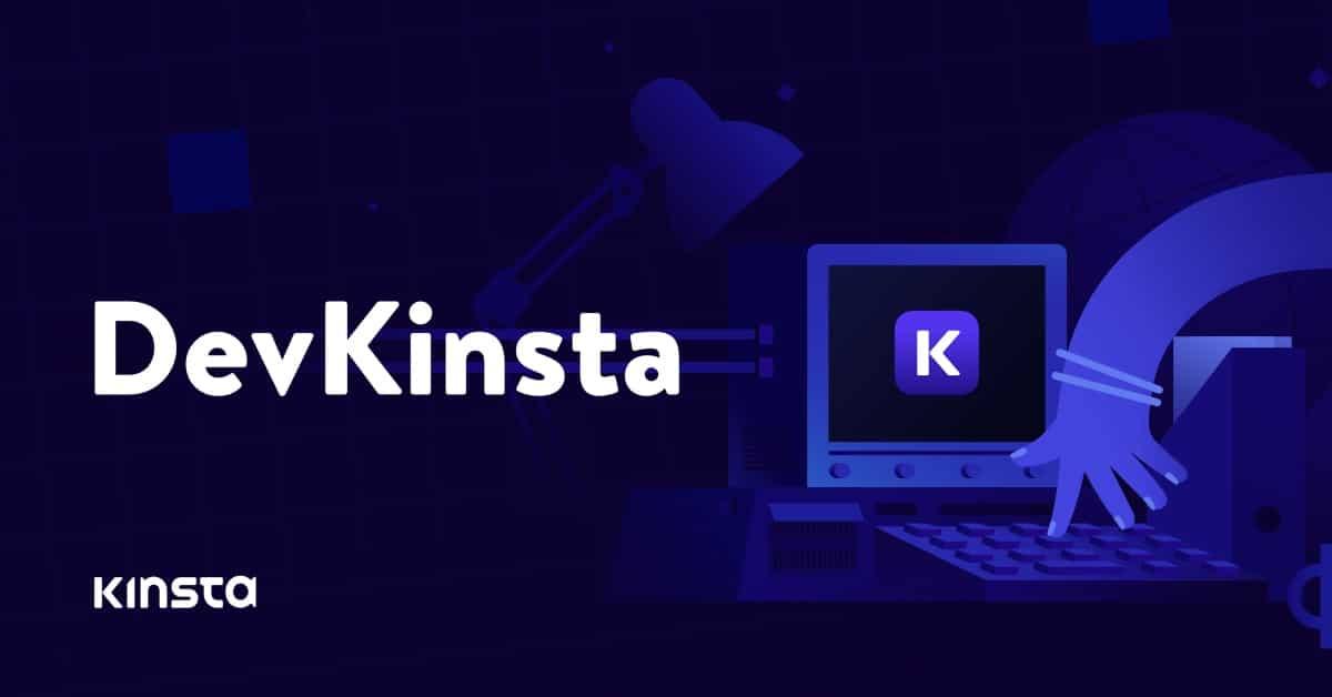 Обложка к записи DevKinsta — бесплатный софт для локальной разработки под WordPress
