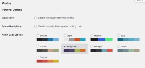 Обложка к записи Цветовая схема админки в зависимости от окружения